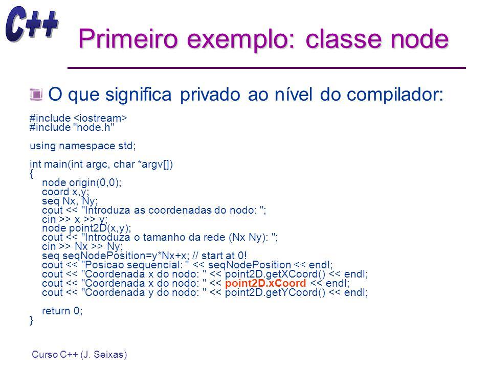 Primeiro exemplo: classe node
