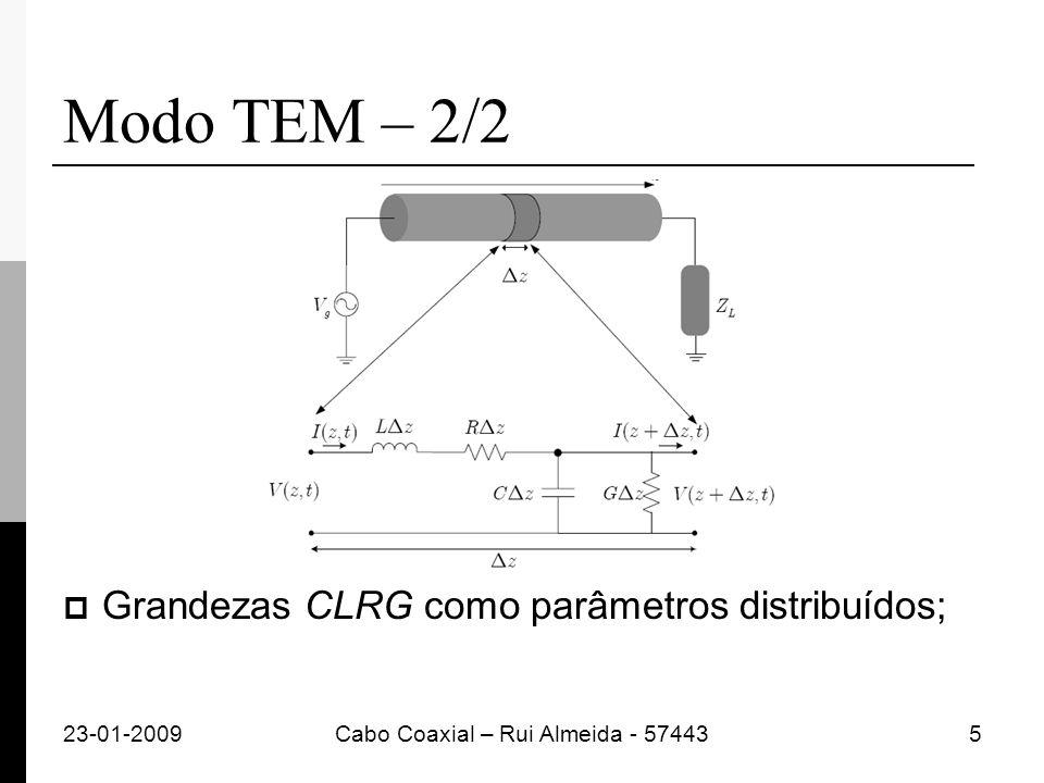Cabo Coaxial – Rui Almeida - 57443