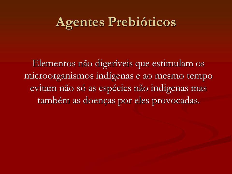 Agentes Prebióticos