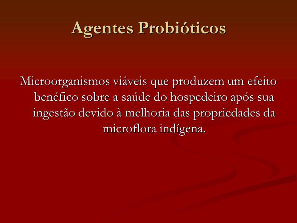 Agentes Probióticos