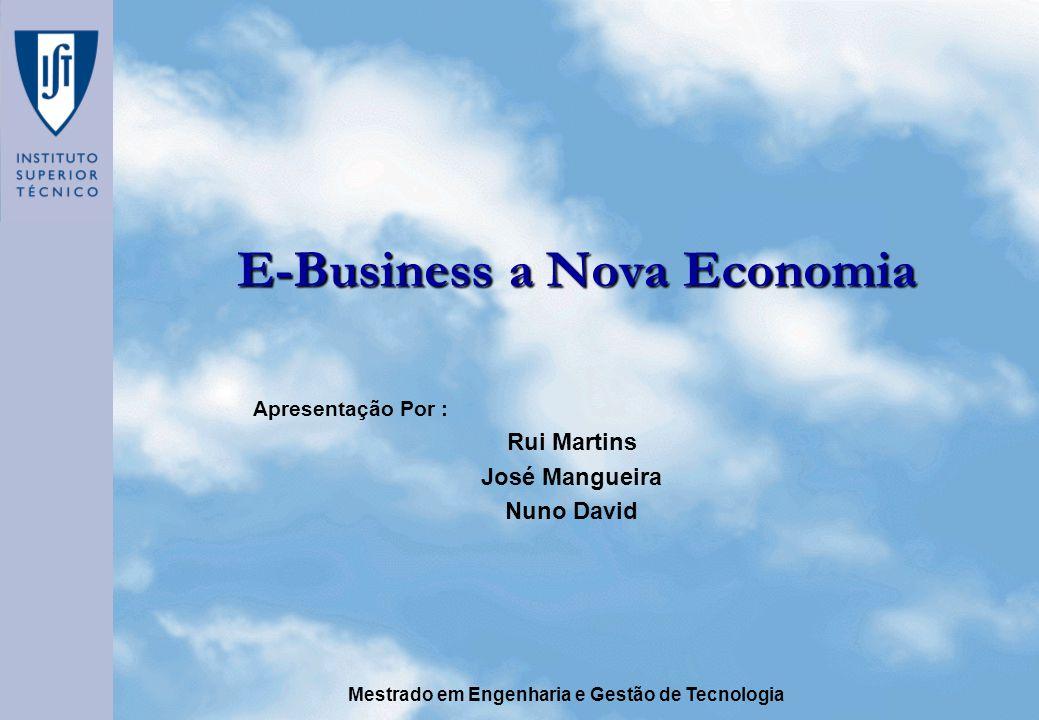 E-Business a Nova Economia