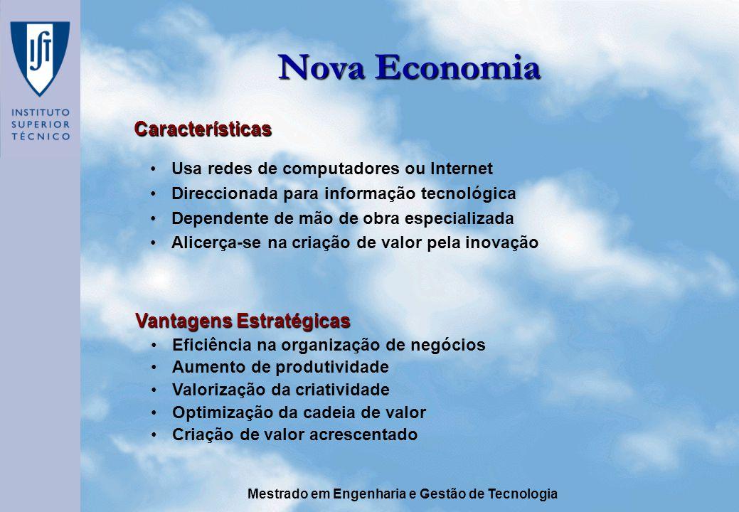 Nova Economia Características Vantagens Estratégicas