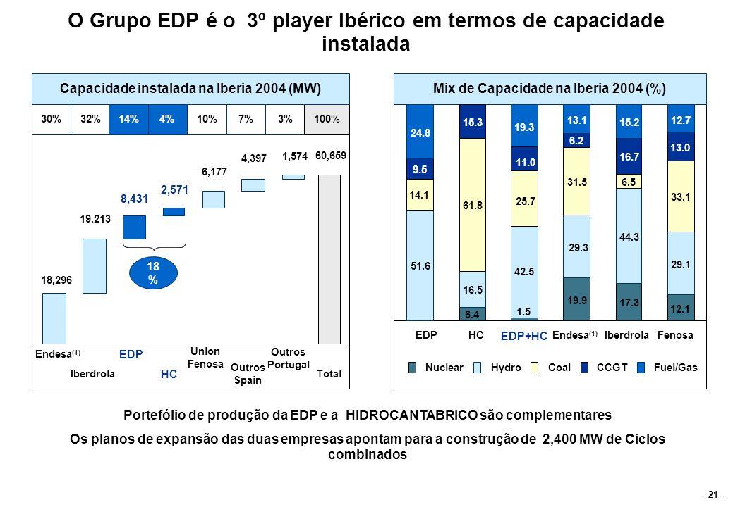 Volatilidade da margem da produção face á hidraulicidade