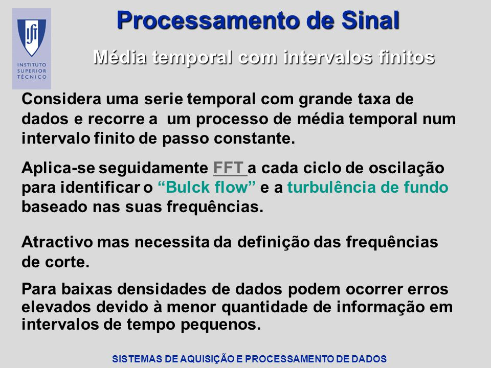 Processamento de Sinal