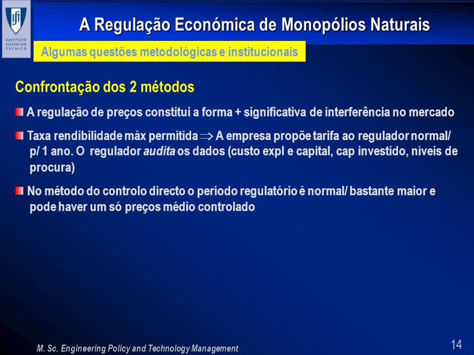 Algumas questões metodológicas e institucionais