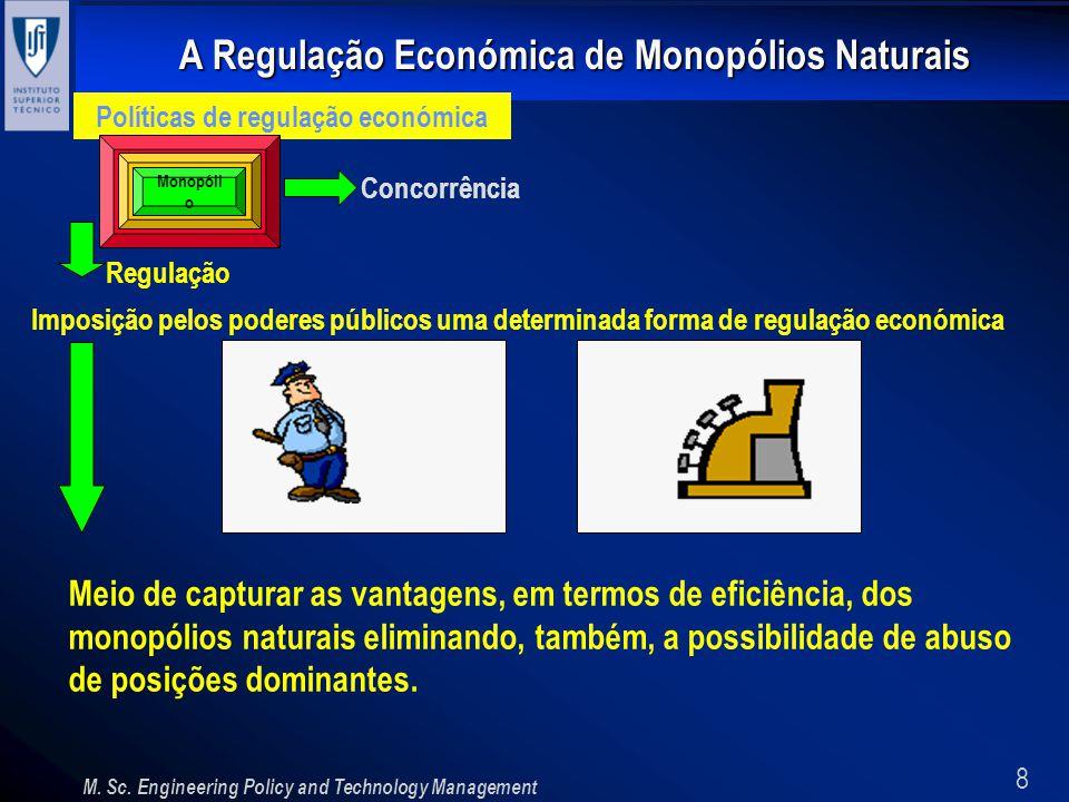 Políticas de regulação económica