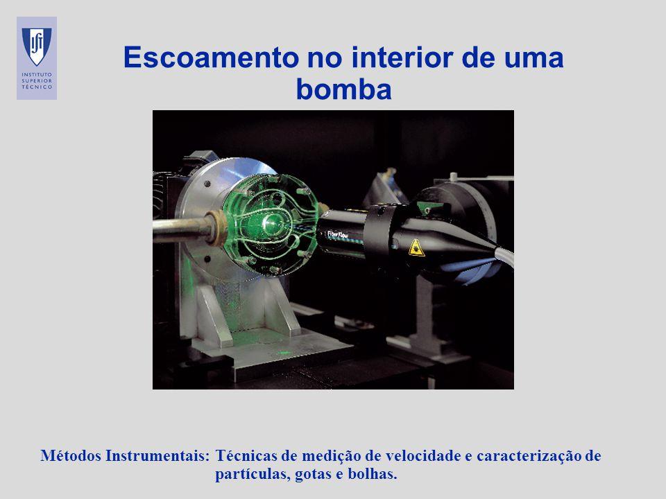 Escoamento no interior de uma bomba
