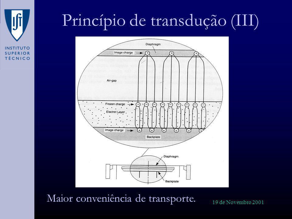 Princípio de transdução (III)