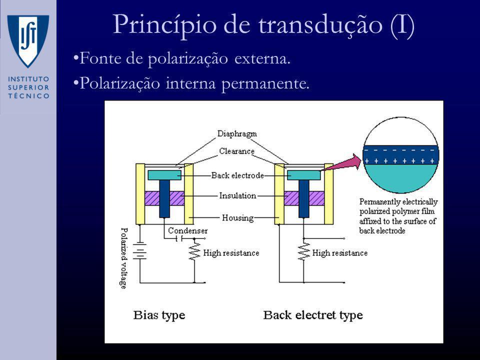 Princípio de transdução (I)