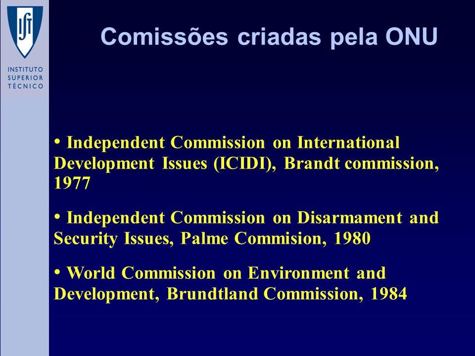 Comissões criadas pela ONU