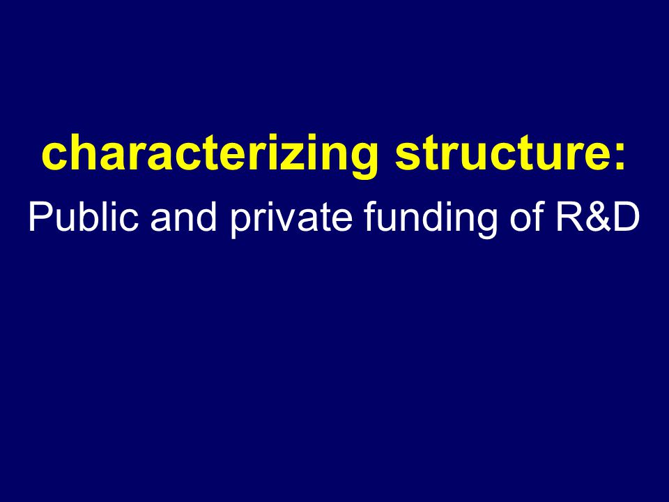 characterizing structure: