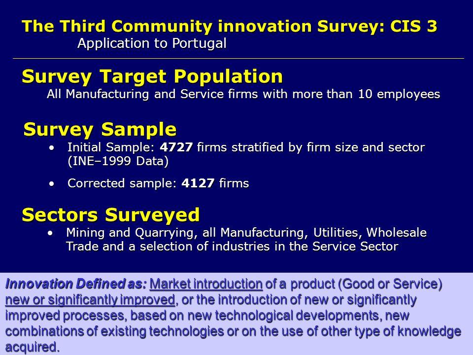 Survey Target Population