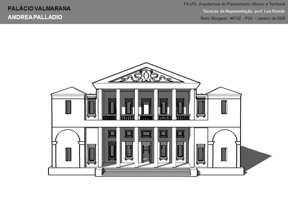PALÁCIO VALMARANA ANDREA PALLADIO