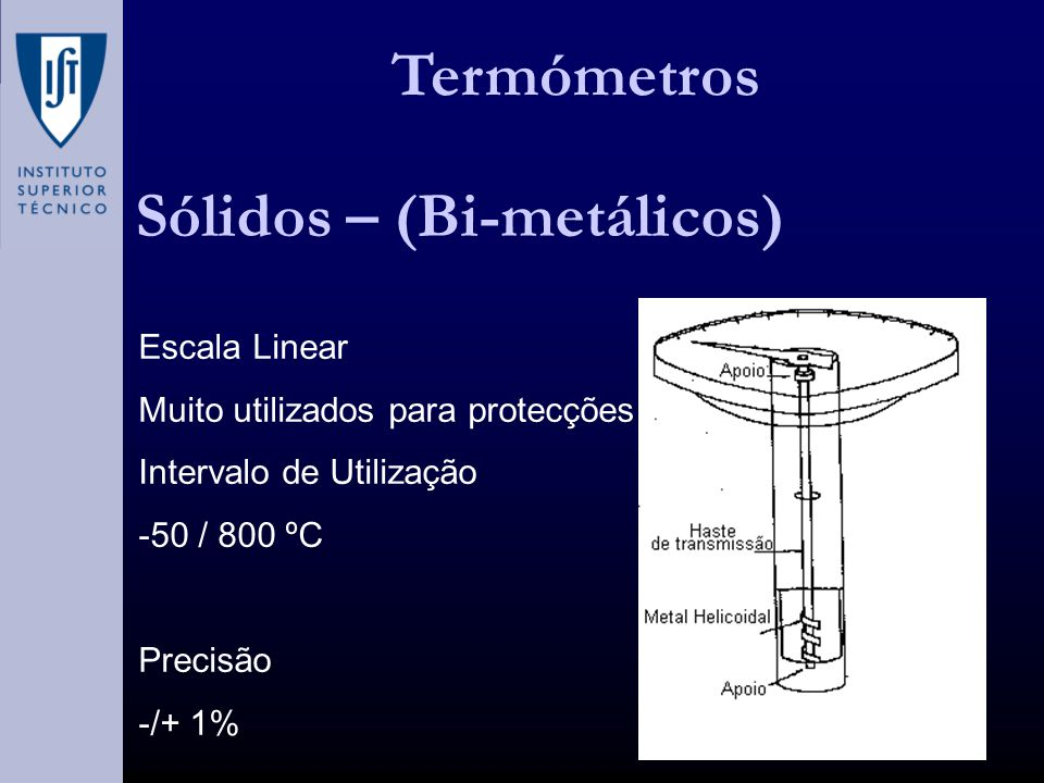 Sólidos – (Bi-metálicos)