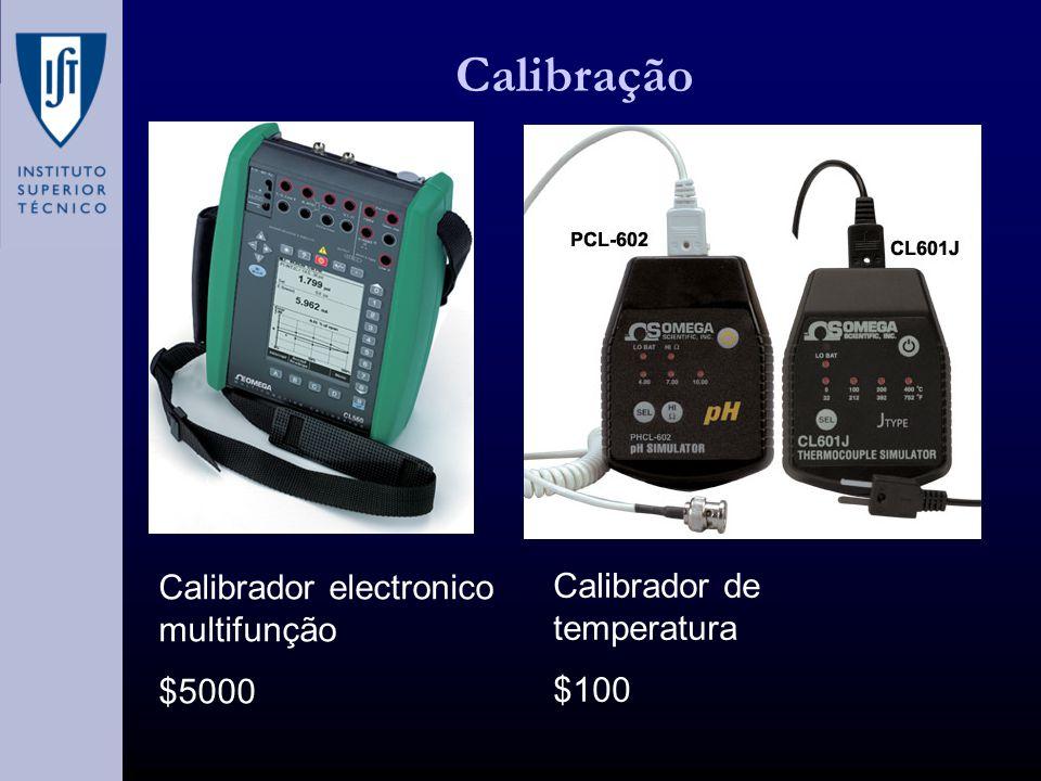 Calibração Calibrador electronico multifunção