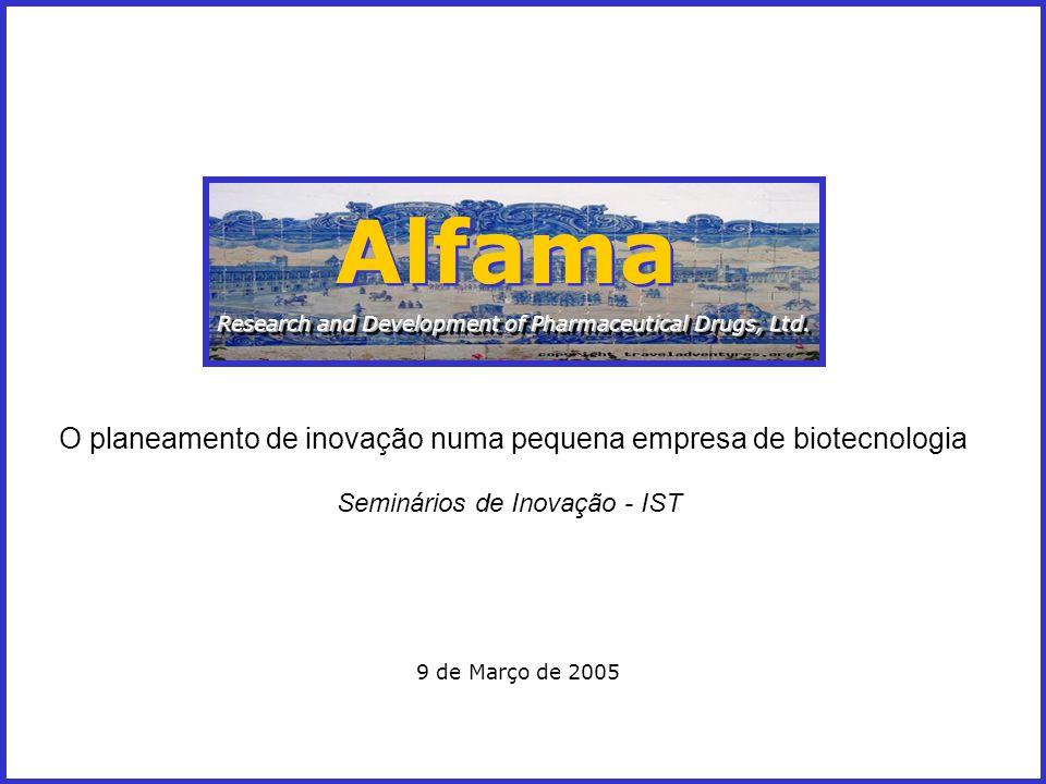 Alfama O planeamento de inovação numa pequena empresa de biotecnologia