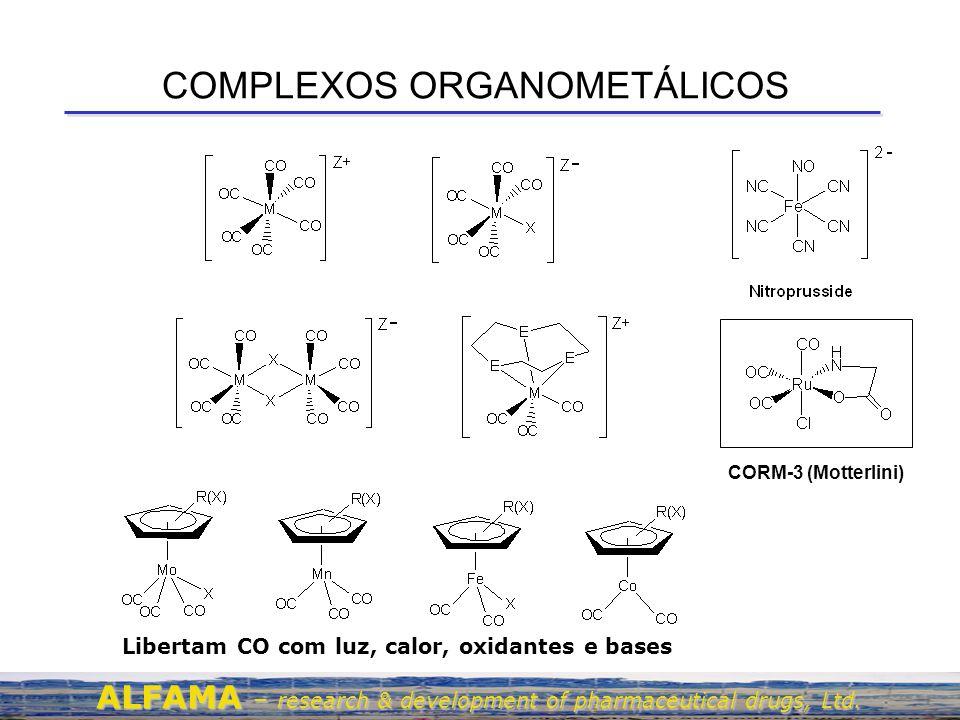 COMPLEXOS ORGANOMETÁLICOS
