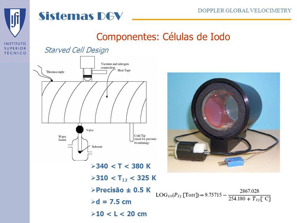 Componentes: Células de Iodo