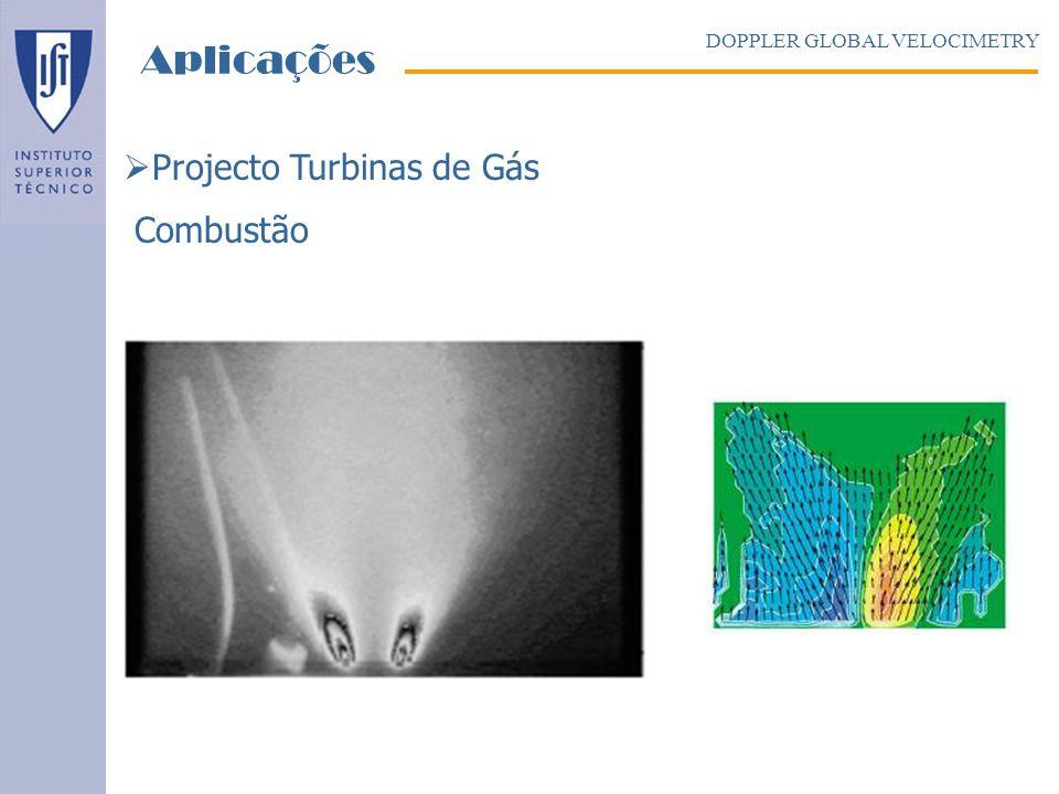 Aplicações Projecto Turbinas de Gás Combustão