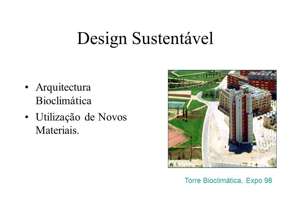Design Sustentável Arquitectura Bioclimática