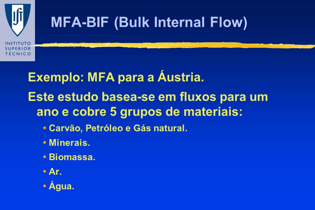 MFA-BIF (Bulk Internal Flow)