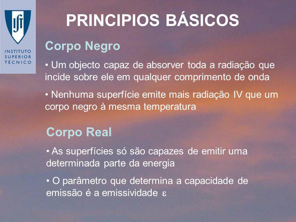 PRINCIPIOS BÁSICOS Corpo Negro Corpo Real