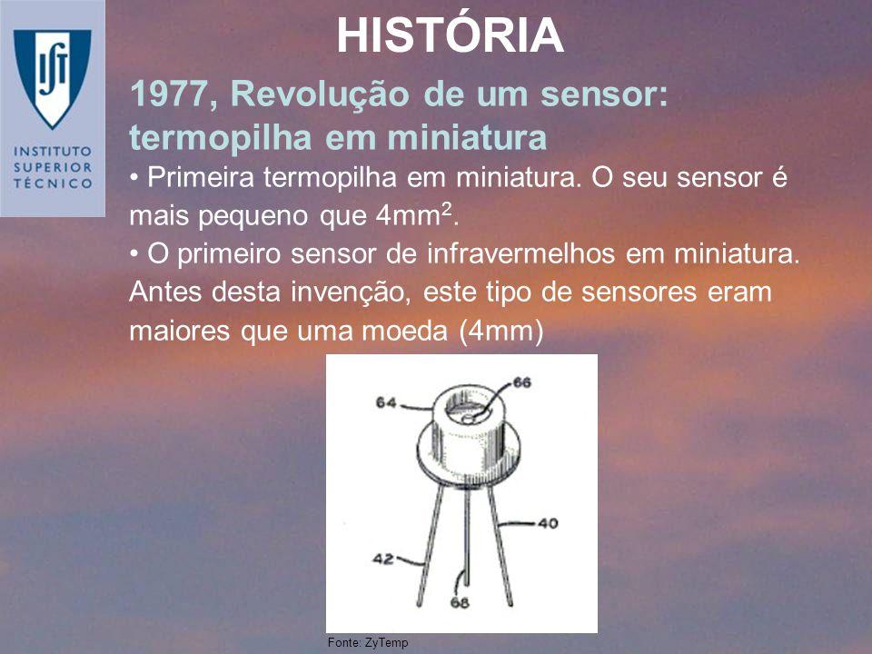HISTÓRIA 1977, Revolução de um sensor: termopilha em miniatura