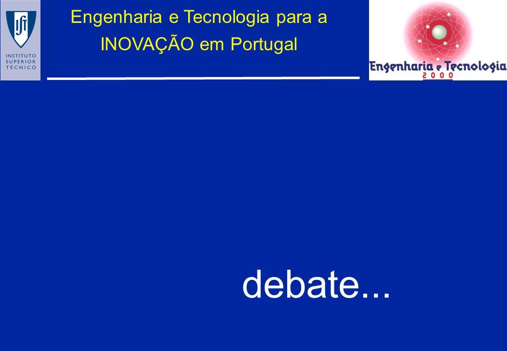 Engenharia e Tecnologia para a INOVAÇÃO em Portugal