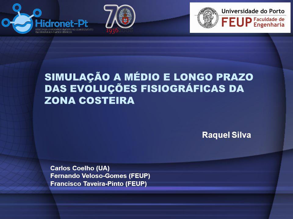 SIMULAÇÃO A MÉDIO E LONGO PRAZO DAS EVOLUÇÕES FISIOGRÁFICAS DA ZONA COSTEIRA