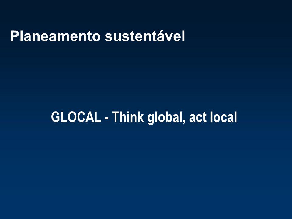 Planeamento sustentável