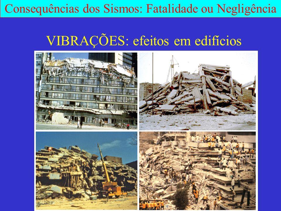 VIBRAÇÕES: efeitos em edifícios