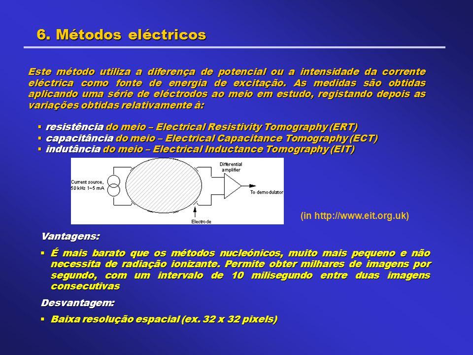6. Métodos eléctricos