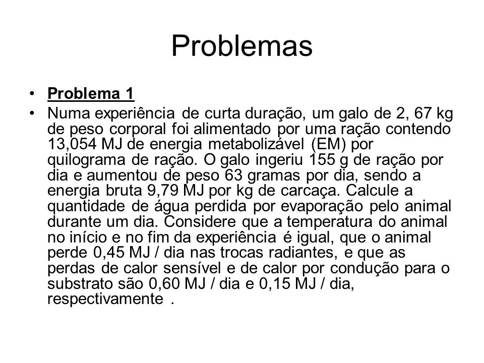 Problemas Problema 1.