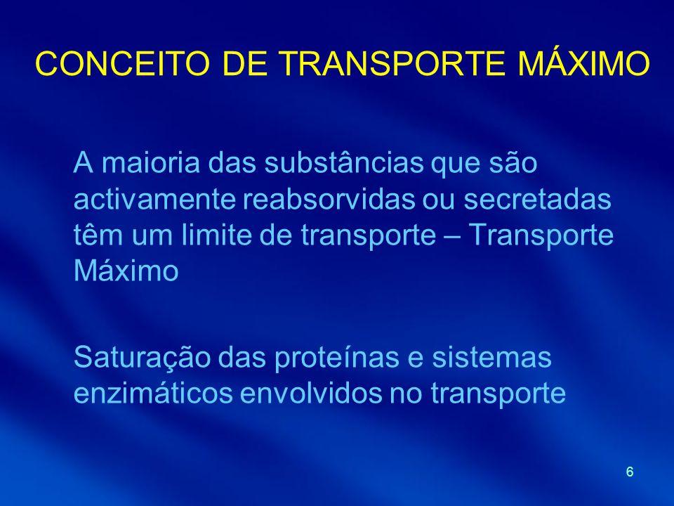 CONCEITO DE TRANSPORTE MÁXIMO
