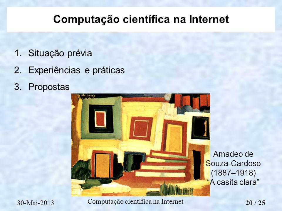 Computação científica na Internet