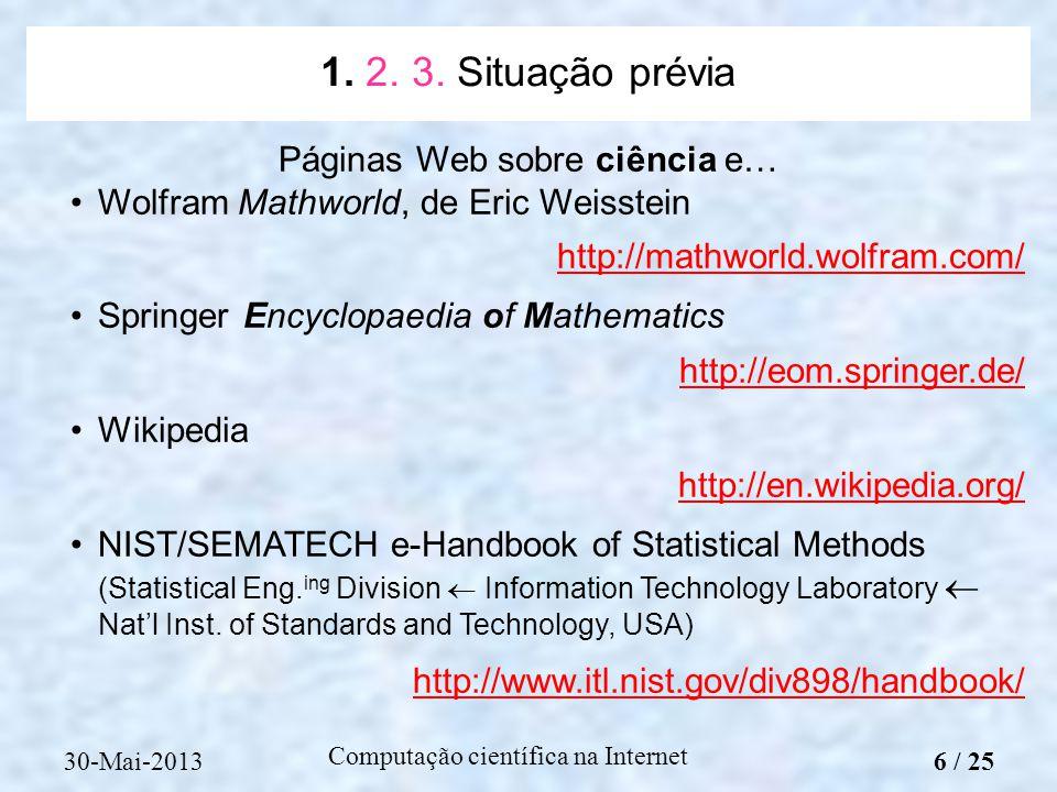 Páginas Web sobre ciência e…