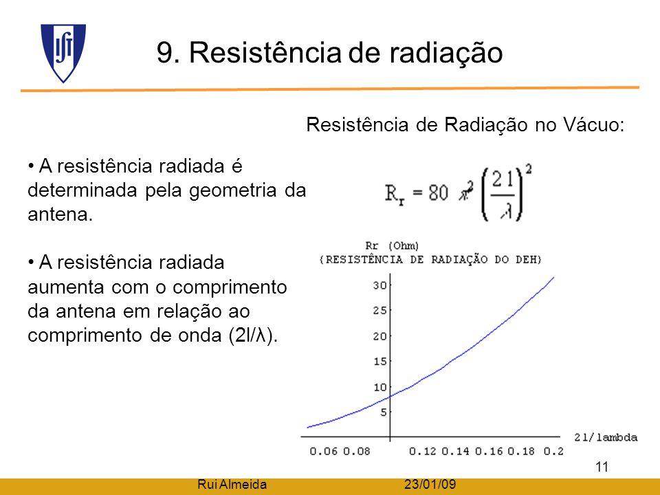 9. Resistência de radiação