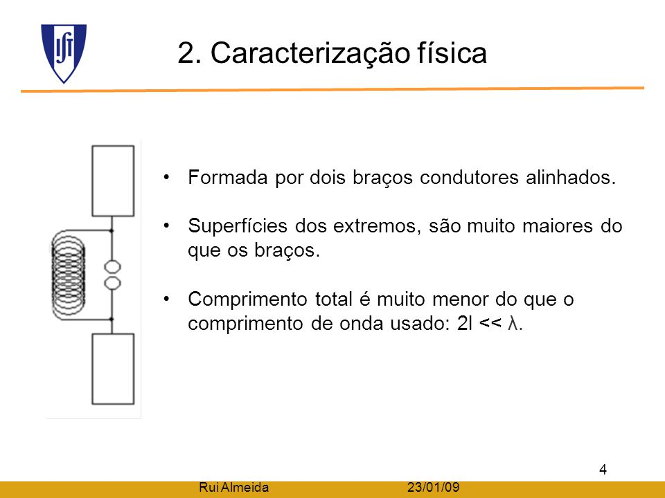 2. Caracterização física
