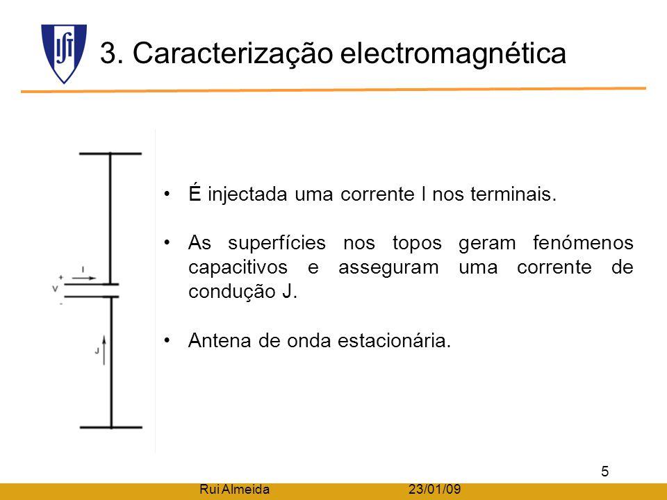 3. Caracterização electromagnética