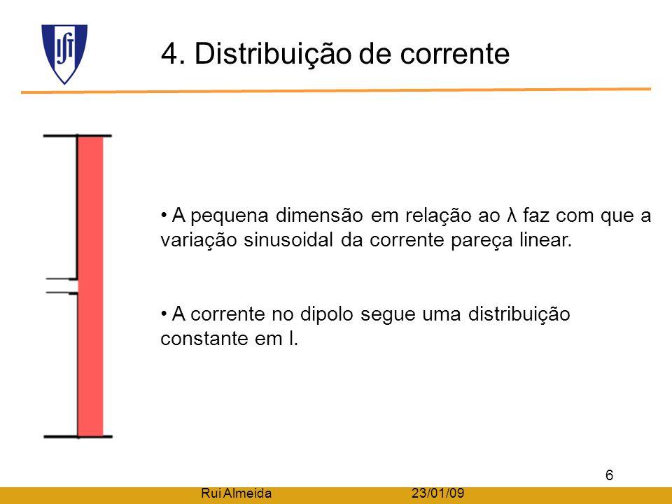 4. Distribuição de corrente