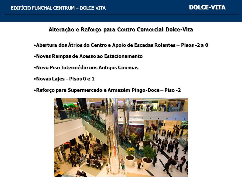 Alteração e Reforço para Centro Comercial Dolce-Vita
