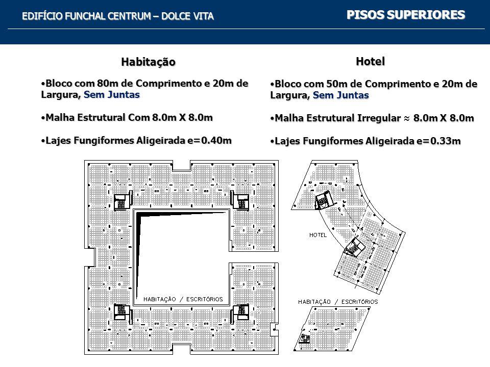 PISOS SUPERIORES Habitação Hotel