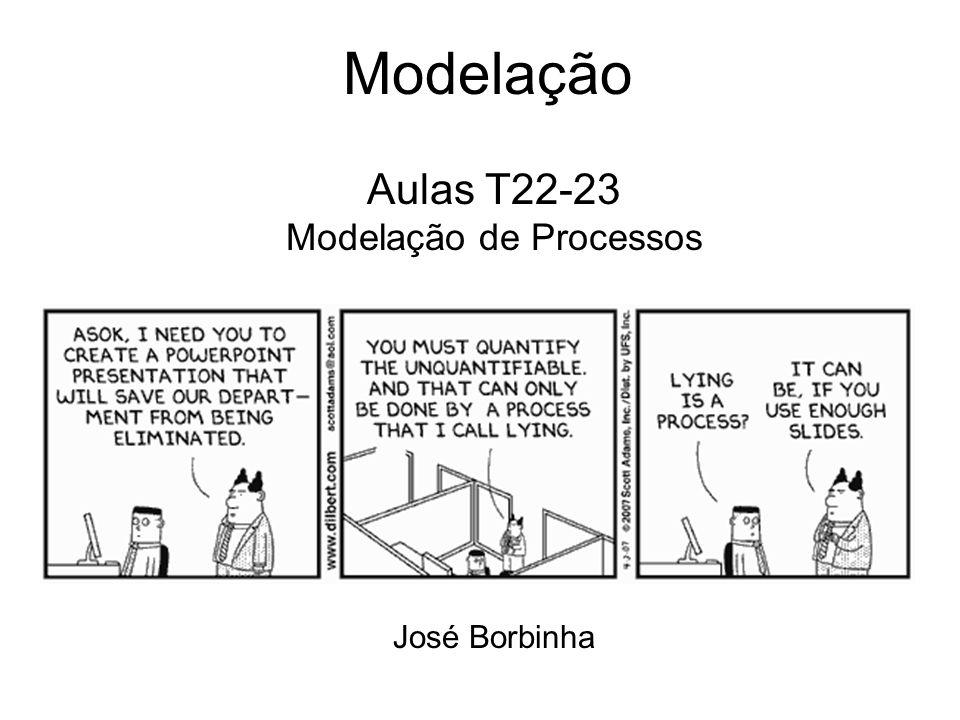 Aulas T22-23 Modelação de Processos José Borbinha