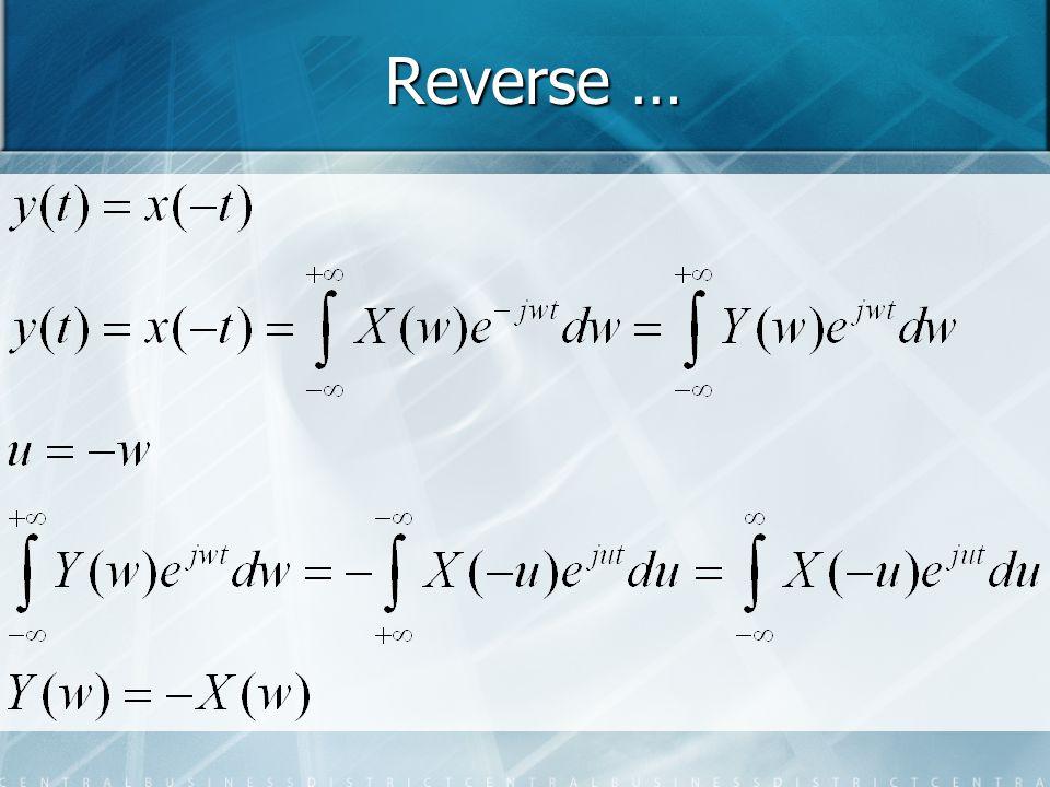 Reverse …