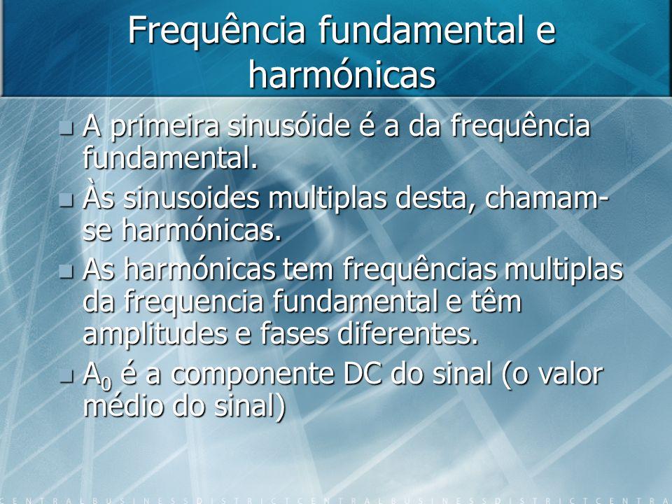 Frequência fundamental e harmónicas
