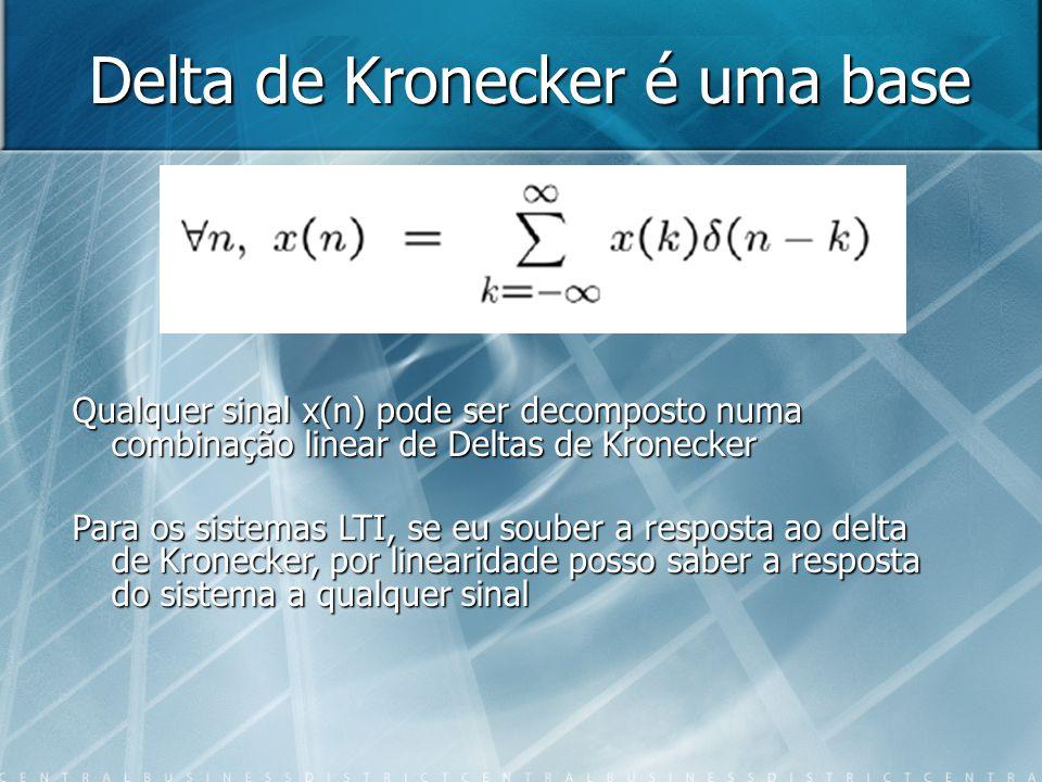 Delta de Kronecker é uma base