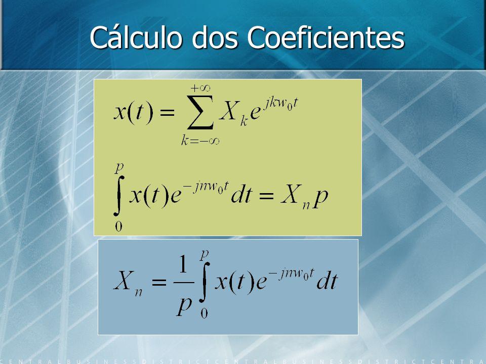 Cálculo dos Coeficientes