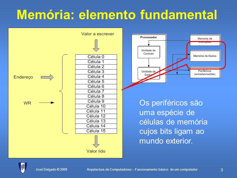 Memória: elemento fundamental