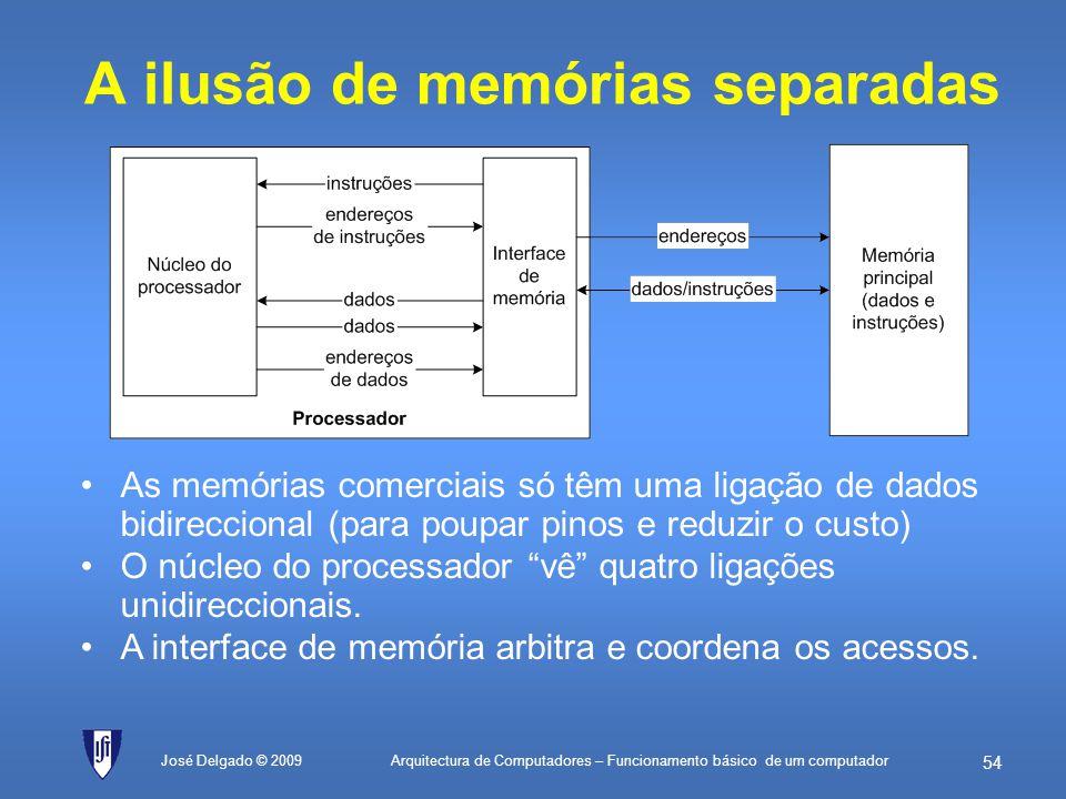 A ilusão de memórias separadas