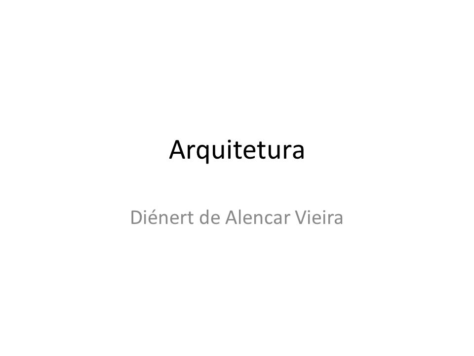 Diénert de Alencar Vieira